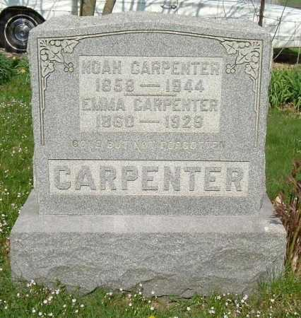 VORIS CARPENTER, EMMA - Hocking County, Ohio | EMMA VORIS CARPENTER - Ohio Gravestone Photos