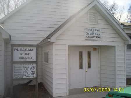 CHURCH, PLEASANT RIDGE - Hocking County, Ohio | PLEASANT RIDGE CHURCH - Ohio Gravestone Photos