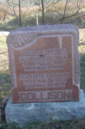 COLLISON, ALLISON - Hocking County, Ohio | ALLISON COLLISON - Ohio Gravestone Photos