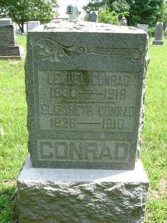 CONRAD, ELIZABETH - Hocking County, Ohio | ELIZABETH CONRAD - Ohio Gravestone Photos