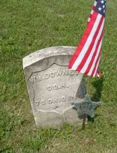 DOWNEY, WILLIAM - Hocking County, Ohio | WILLIAM DOWNEY - Ohio Gravestone Photos
