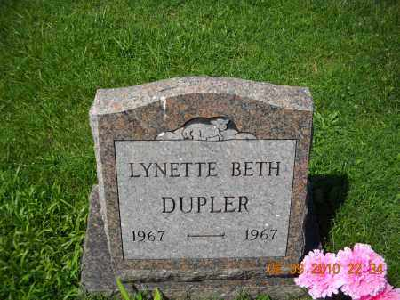 DUPLER, LYNETTE - Hocking County, Ohio | LYNETTE DUPLER - Ohio Gravestone Photos