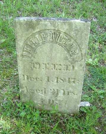 DUPLER, PHILIP - Hocking County, Ohio | PHILIP DUPLER - Ohio Gravestone Photos