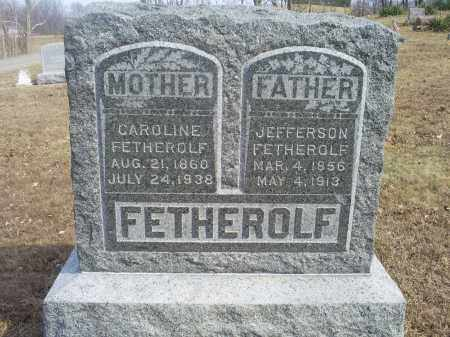 FETHEROLF, CAROLINE - Hocking County, Ohio | CAROLINE FETHEROLF - Ohio Gravestone Photos
