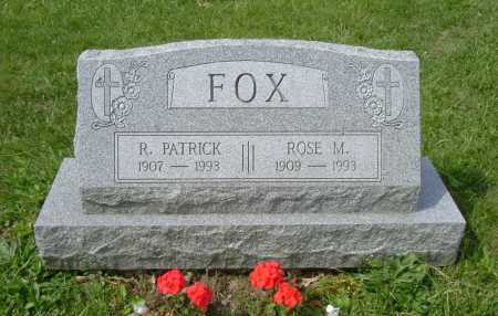 FOX, ROSE M. - Hocking County, Ohio | ROSE M. FOX - Ohio Gravestone Photos