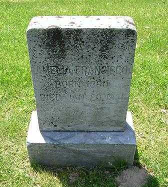 FRANCISCO, AMELIA - Hocking County, Ohio | AMELIA FRANCISCO - Ohio Gravestone Photos
