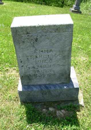 FRANCISCO, EMMA - Hocking County, Ohio | EMMA FRANCISCO - Ohio Gravestone Photos