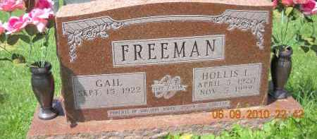FREEMAN, GAIL - Hocking County, Ohio | GAIL FREEMAN - Ohio Gravestone Photos