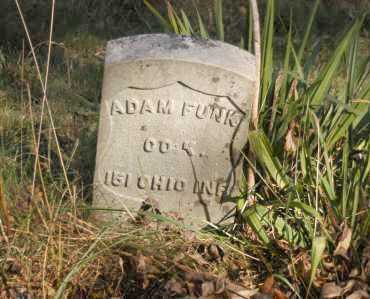 FUNK, ADAM - Hocking County, Ohio | ADAM FUNK - Ohio Gravestone Photos