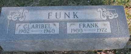FUNK, CLARIBEL - Hocking County, Ohio | CLARIBEL FUNK - Ohio Gravestone Photos