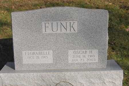 FUNK, OSCAR H - Hocking County, Ohio | OSCAR H FUNK - Ohio Gravestone Photos