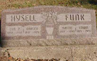 HYSELL, OAKLEY - Hocking County, Ohio | OAKLEY HYSELL - Ohio Gravestone Photos