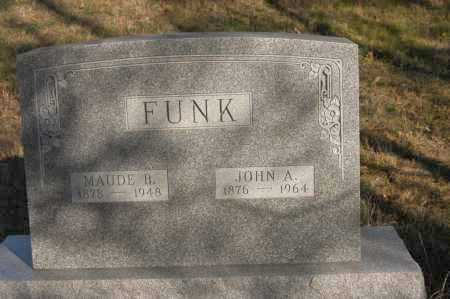 FUNK, MAUDE B. - Hocking County, Ohio | MAUDE B. FUNK - Ohio Gravestone Photos