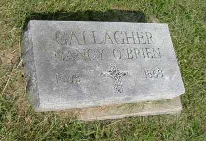 O'BRIEN GALLAGHER, NANCY - Hocking County, Ohio | NANCY O'BRIEN GALLAGHER - Ohio Gravestone Photos