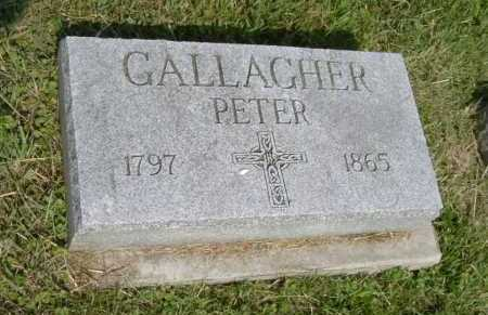 GALLAGHER, PETER - Hocking County, Ohio | PETER GALLAGHER - Ohio Gravestone Photos