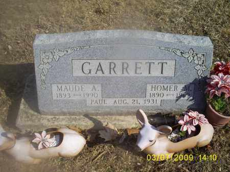 GARRETT, MAUDE A. - Hocking County, Ohio | MAUDE A. GARRETT - Ohio Gravestone Photos