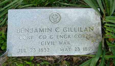GILLILAN, BENJAMIN - Hocking County, Ohio | BENJAMIN GILLILAN - Ohio Gravestone Photos