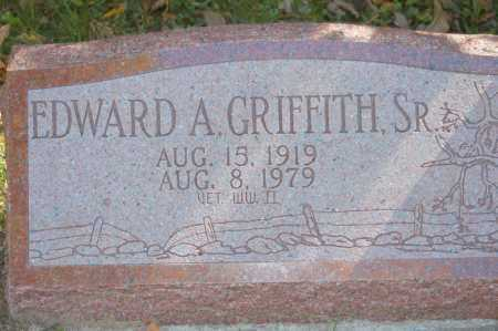GRIFFITH, EDWARD A SR - Hocking County, Ohio | EDWARD A SR GRIFFITH - Ohio Gravestone Photos