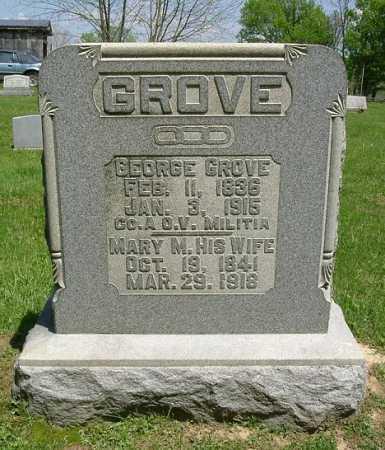 GROVE, MARY M. - Hocking County, Ohio | MARY M. GROVE - Ohio Gravestone Photos