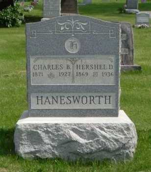 HANESWORTH, HERSHEL D. - Hocking County, Ohio | HERSHEL D. HANESWORTH - Ohio Gravestone Photos