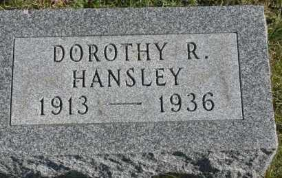 HANSLEY, DOROTHY R - Hocking County, Ohio | DOROTHY R HANSLEY - Ohio Gravestone Photos