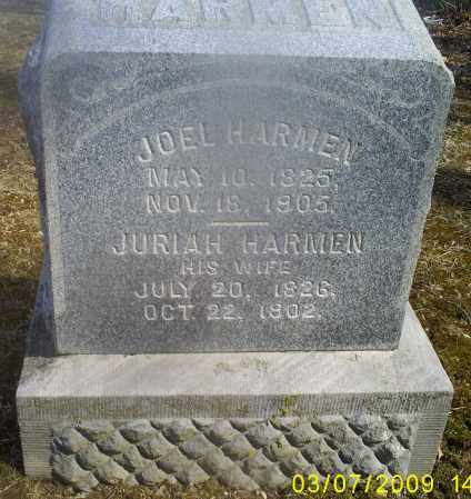 HARMEN, JOEL - Hocking County, Ohio | JOEL HARMEN - Ohio Gravestone Photos