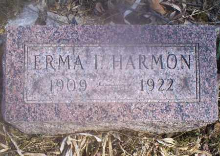 HARMON, ERMA I. - Hocking County, Ohio | ERMA I. HARMON - Ohio Gravestone Photos