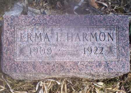 HARMON, ERMA I. - Hocking County, Ohio | ERMA I. HARMON - Ohio Gravestone Photos
