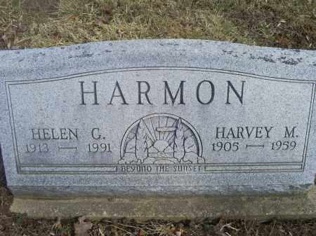 HARMON, HARVEY M. - Hocking County, Ohio | HARVEY M. HARMON - Ohio Gravestone Photos