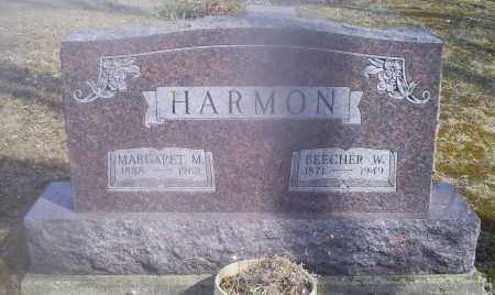 HARMON, BEECHER W. - Hocking County, Ohio | BEECHER W. HARMON - Ohio Gravestone Photos