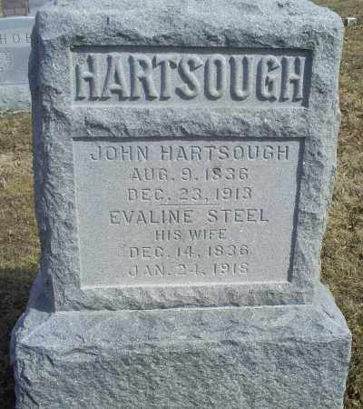 HARTSOUGH, EVALINE - Hocking County, Ohio | EVALINE HARTSOUGH - Ohio Gravestone Photos