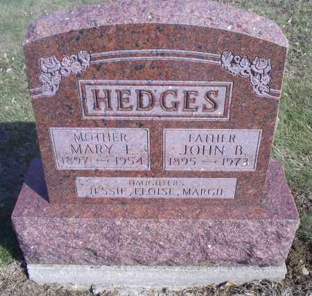 HEDGES, JOHN B. - Hocking County, Ohio | JOHN B. HEDGES - Ohio Gravestone Photos