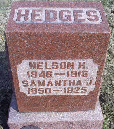 HEDGES, SAMANTHA J. - Hocking County, Ohio | SAMANTHA J. HEDGES - Ohio Gravestone Photos