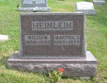 HEINLEIN, MARTHA J. - Hocking County, Ohio | MARTHA J. HEINLEIN - Ohio Gravestone Photos