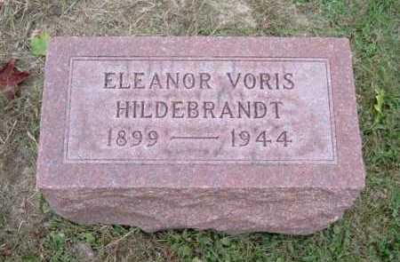 VORIS HILDEBRANDT, ELEANOR - Hocking County, Ohio | ELEANOR VORIS HILDEBRANDT - Ohio Gravestone Photos