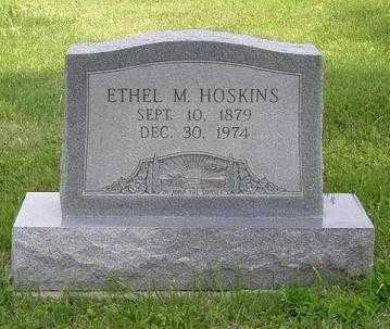 RIGGS HOSKINS, ETHEL MAY - Hocking County, Ohio | ETHEL MAY RIGGS HOSKINS - Ohio Gravestone Photos