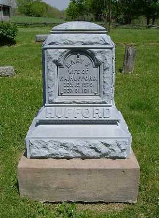 HUFFORD, MARY V. - Hocking County, Ohio | MARY V. HUFFORD - Ohio Gravestone Photos