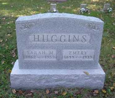 ALLEN HUGGINS, SARAH M. - Hocking County, Ohio | SARAH M. ALLEN HUGGINS - Ohio Gravestone Photos