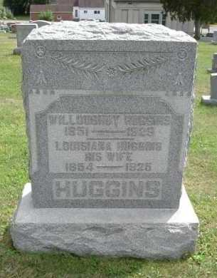 HUGGINS, WILLOUGHBY - Hocking County, Ohio | WILLOUGHBY HUGGINS - Ohio Gravestone Photos