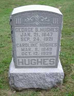 HUGHES, CAROLINE - Hocking County, Ohio | CAROLINE HUGHES - Ohio Gravestone Photos