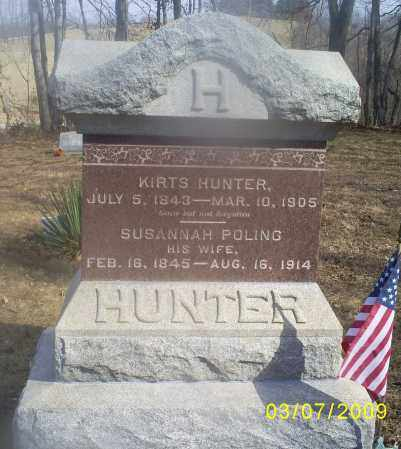 HUNTER, SUSANNAH - Hocking County, Ohio | SUSANNAH HUNTER - Ohio Gravestone Photos