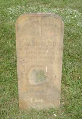 JUDY, FRANCES - Hocking County, Ohio | FRANCES JUDY - Ohio Gravestone Photos