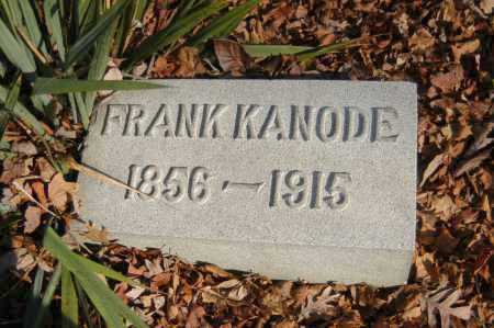 KANODE, FRANK - Hocking County, Ohio | FRANK KANODE - Ohio Gravestone Photos