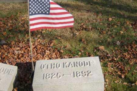 KANODE, OTHO - Hocking County, Ohio   OTHO KANODE - Ohio Gravestone Photos