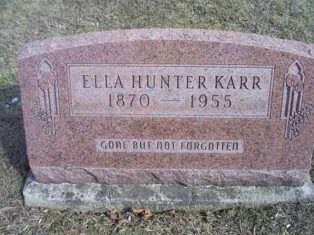 KARR, ELLA - Hocking County, Ohio | ELLA KARR - Ohio Gravestone Photos