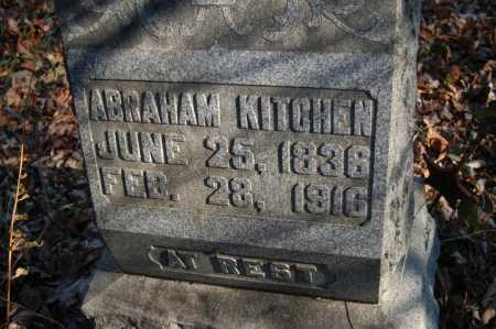 KITCHEN, ABRAHAM - Hocking County, Ohio | ABRAHAM KITCHEN - Ohio Gravestone Photos