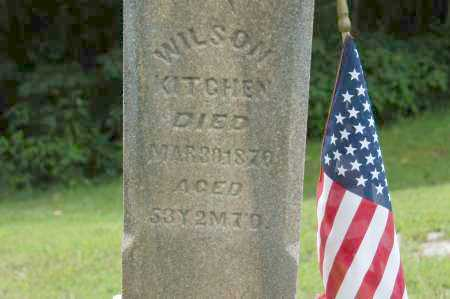 KITCHEN, WILSON - Hocking County, Ohio | WILSON KITCHEN - Ohio Gravestone Photos