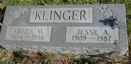 KLINGER, JESSE A. - Hocking County, Ohio | JESSE A. KLINGER - Ohio Gravestone Photos