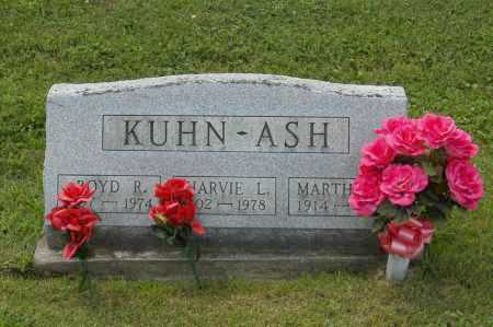 KUHN, HARVIE L - Hocking County, Ohio | HARVIE L KUHN - Ohio Gravestone Photos