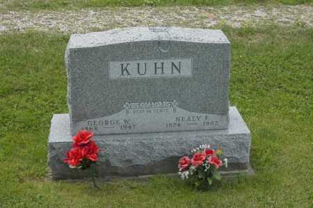 KUHN, NEALY F. - Hocking County, Ohio | NEALY F. KUHN - Ohio Gravestone Photos